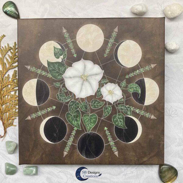 Moonflowers- Spirituele kunst - Moon Magick SBDC
