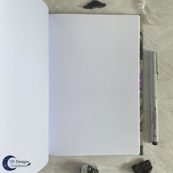 Blanco notitieboekje jounal SBDesignsCreations