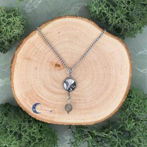 Labradoriet Ketting-Labradorite Necklace- Spirituele Sieraden