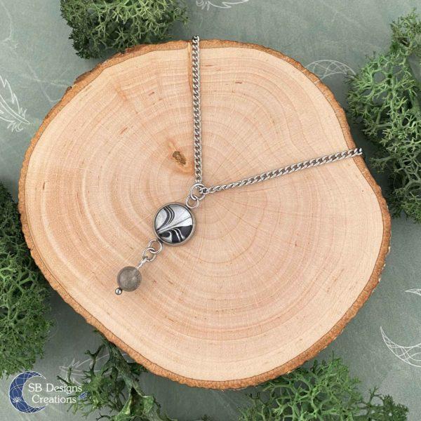 Labradorite protection necklace SBDesignsCreations