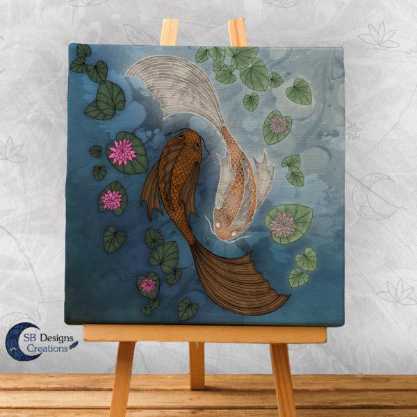 Yin-Yang-Koi-Carps-Japan-Oriental-Art-Spiritual-1