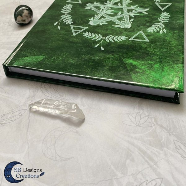 hardcover-Notebook-Elemental-Magick-Green-4