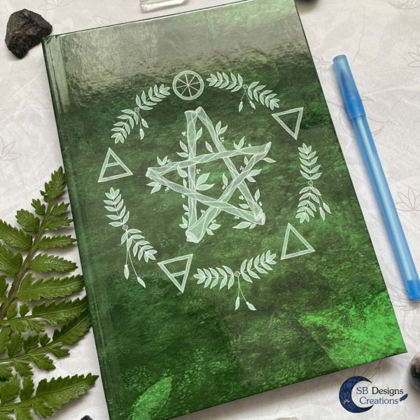 hardcover-Notebook-Elemental-Magick-Green-7