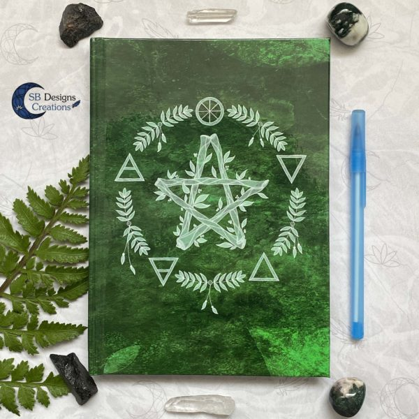 hardcover-Notebook-Elemental-Magick-Green-8