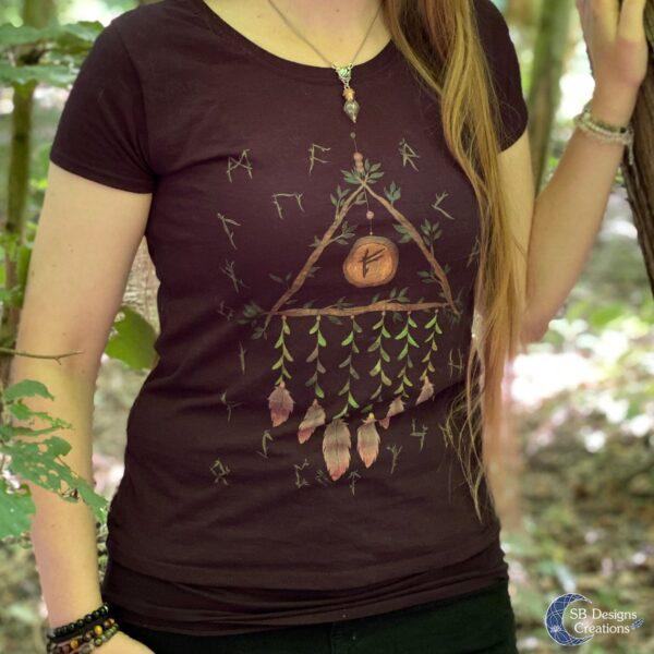 Heks-Shirt-Kleding-Pagan-Tshirt-Witchy-Vibes-2