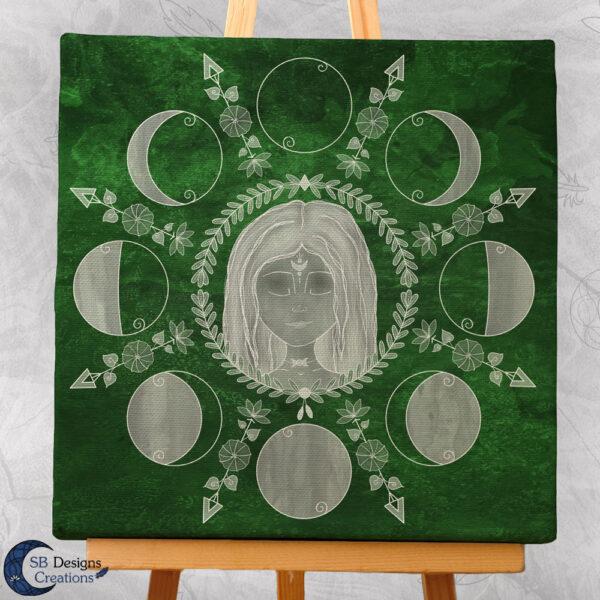 Maancyclus Spirituele Art Godinnen-3