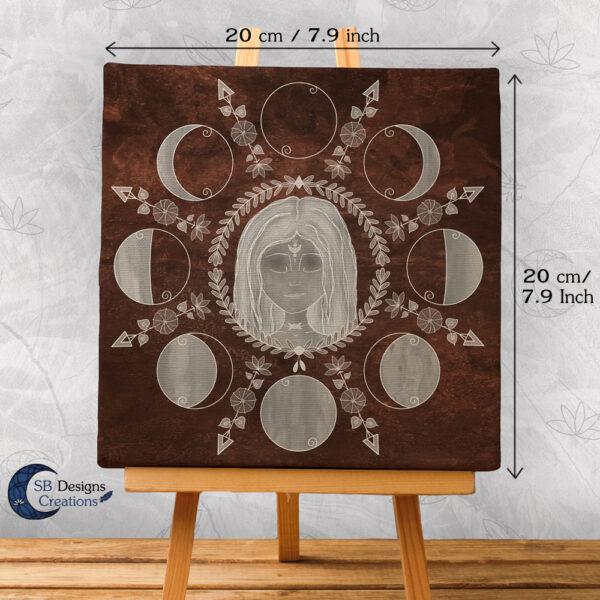 Maanfasen-illustratie-Maangodin-SBDesignsCreations-2