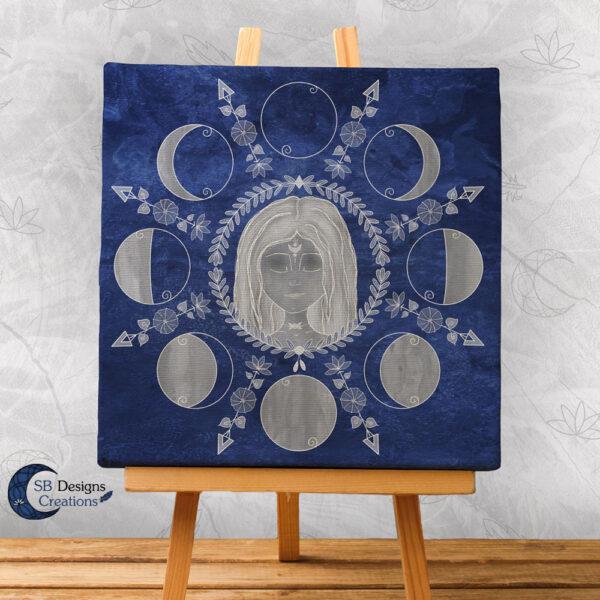 Maangodin-Art-Huisdeco-Pagan Art