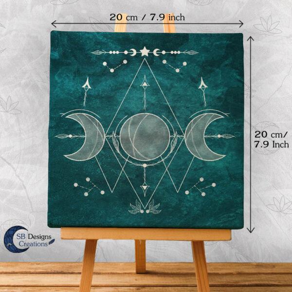 Moon Illustration Art Witch Symbols-Moon Witch-2