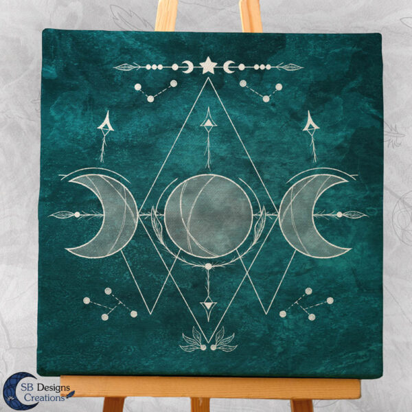 Moon Illustration Art Witch Symbols-Moon Witch-3