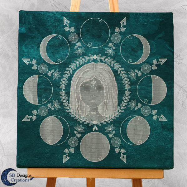 Moon Phases Canvas Art Home Docoration-3