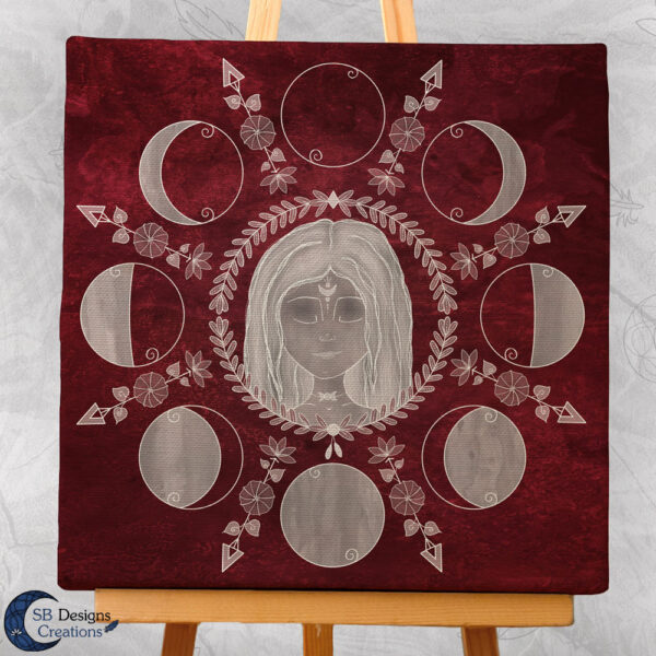Moonchild Moonwitch Home decoration Sacred Space-3