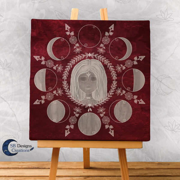 Moonchild Moonwitch Home decoration Sacred Space