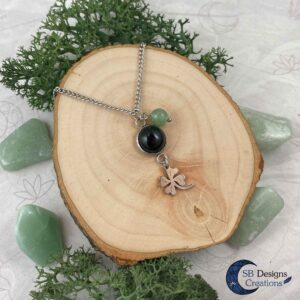 A little bit of Luck - aventurine and onyx-3