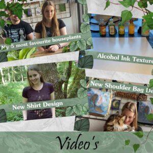 Videos-Youtube-Fantasy-Witch-Artist-SBDesignsCreations