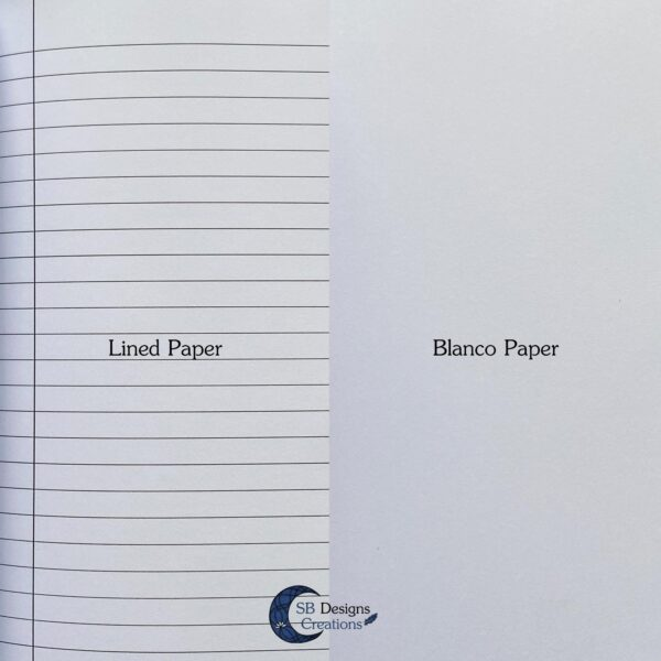A5 Notebook Hardcover Lined of Blanco