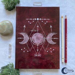 Drievoudige Maan Symbool SB Designs Creations