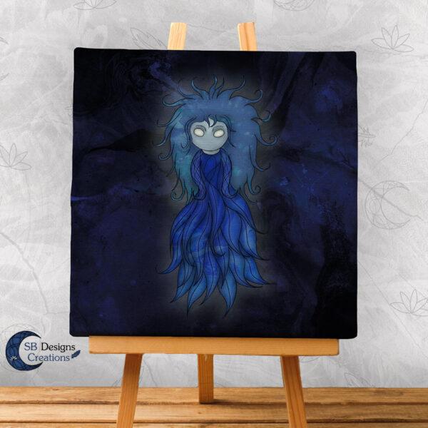 Follow the Wisp Canvas Art Magische Wezens Folktale-1