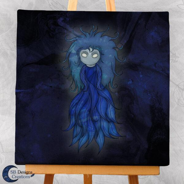 Follow the Wisp Canvas Art Magische Wezens Folktale-3