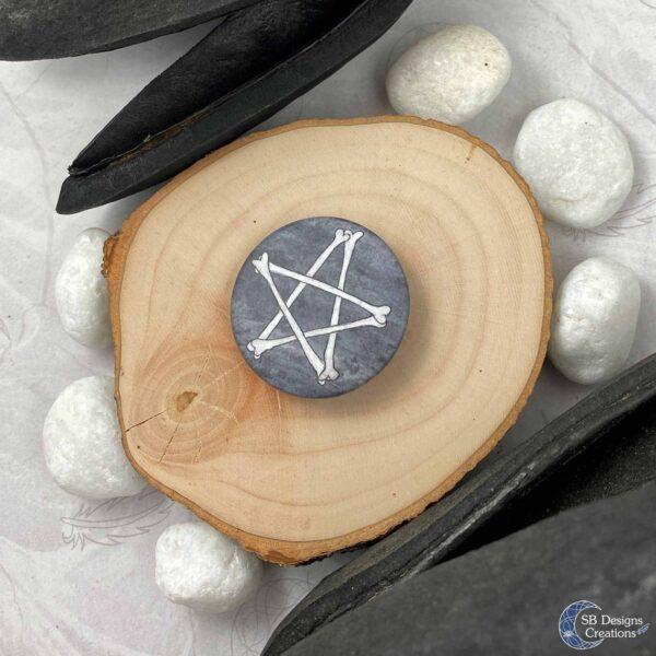 Heks Heksendingen Pentagram Botten