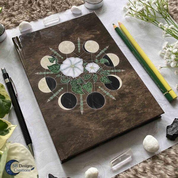 Heksenboekje Heks Maanmagie Journal Notitieboek A5