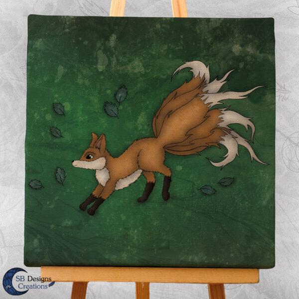 Japanse Kitsune Art