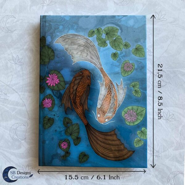 Koi Karpers notitieboek Japanse Stijl