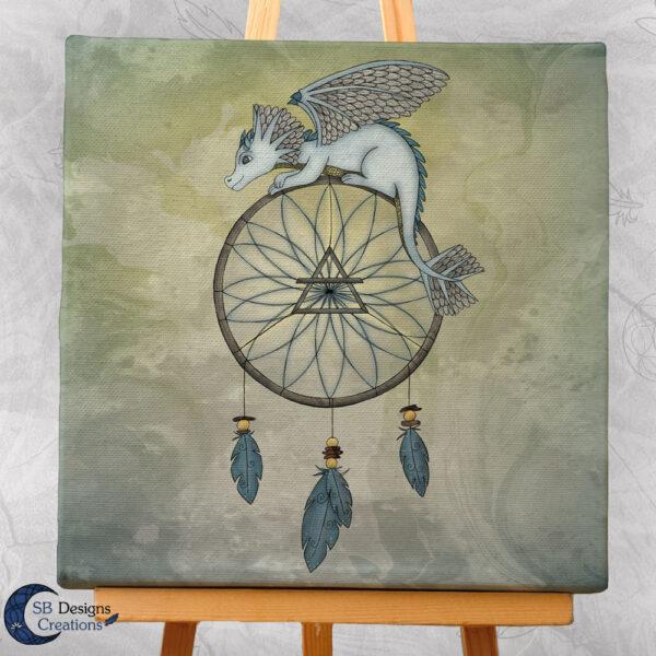 Lucht draak Air Dragon Art Fantasy Creatures-3