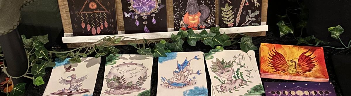 Postcards Ansichtkaart A6 Prints Fantasy Art