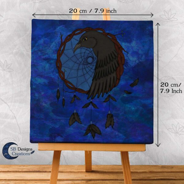 Raven Dream Catcher Home Decoration-3