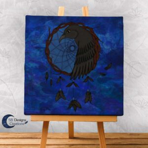 Raven Dream Catcher Home Decoration