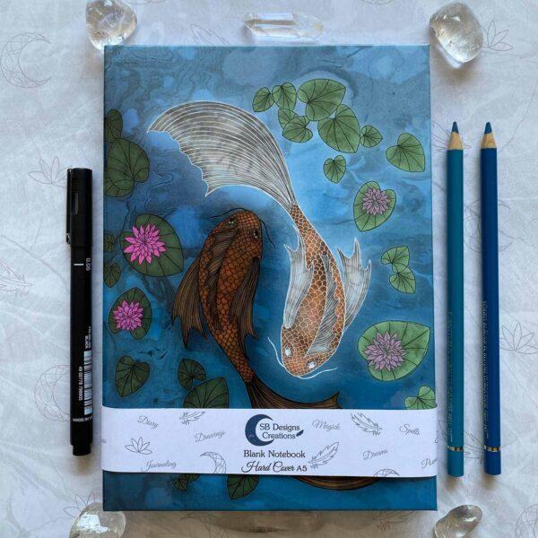 Sterrenbeeld Vissen notitieboek Hardcover A5