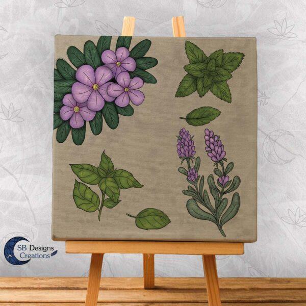 Thee-Kruiden-Art-Jasmijn-Lavendel-Basilicum-Munt-1