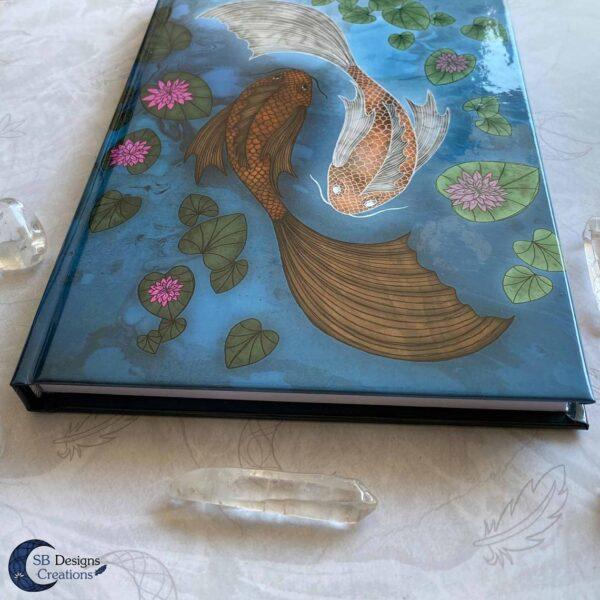 Yin Yang Notitieboek Vissen Koi Karpers
