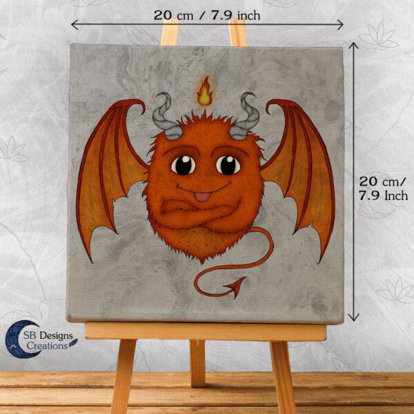 Cute Monster Fire Element SB Designs Creations