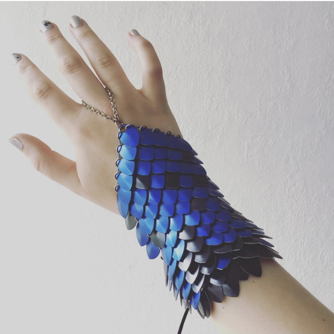 Drakenschubben handschoen Dragon Scales Cosplay