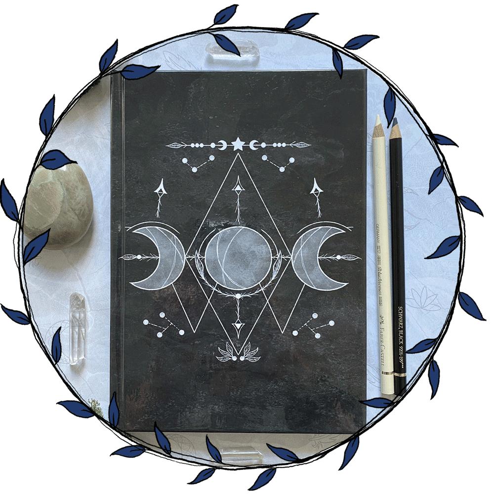 Een-Magisch-Dagboek-Beginnen-Spiritueel-Journal-Spiritualiteit-Book-of-Shadows-Informatie