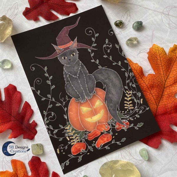 Heks Kat Witchy Cat SB Designs Creations