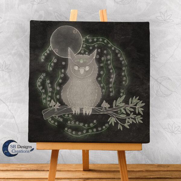 Krachtdier Uil Spirit Animal Sacred Space Magisch Huis