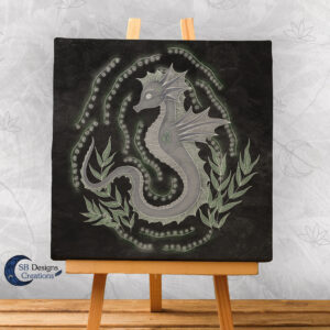 Krachtdier Zeepaardje-Spirit Animal-Seahorse-SBDesignsCreations