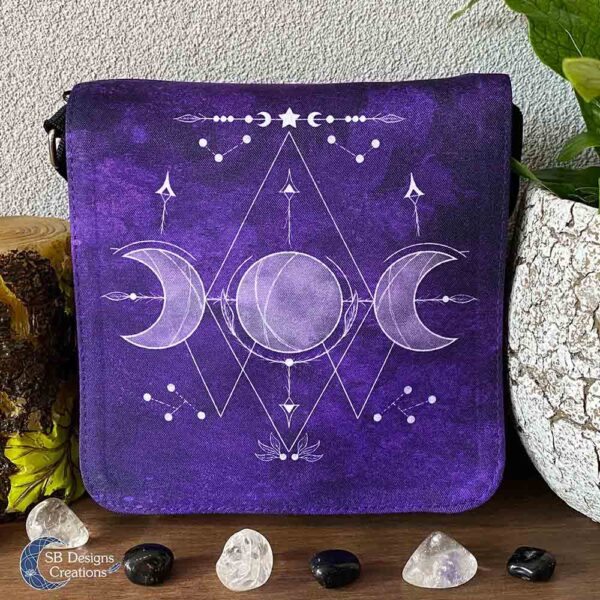 Triple Moon Shoulder Bag - Witchy Vibes - Moonwitch
