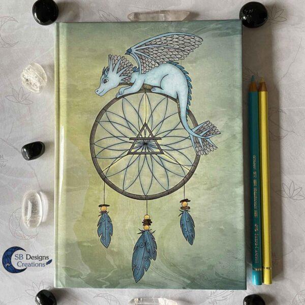 Air Dragon Dream Catcher Notebook
