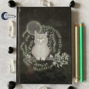 Uil Krachtdier Owl Spirit Animal Notebook Journal A5 Spirits SBDesignsCreations