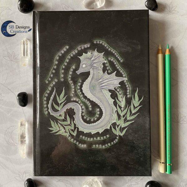 Zeepaard Krachtdier A5 Notitieboek SBDesignsCreations