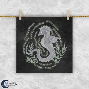 Zeepaard Krachtdier - Seahorse Animal Spirit - The Spirit Animal Collection