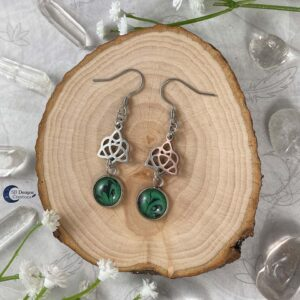 Celtic Heart Oorbellen - Keltische Oorbellen - Pagan Oorbellen - Celtic Witch - SB Designs Creations -1