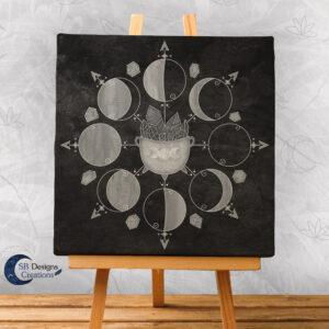 Heksenketel Maanmagie Maancirkel Maanfasen Moonphases-1