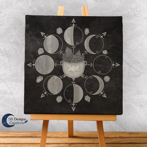 Cauldron Moonmagic Mooncycle Moonphases-1