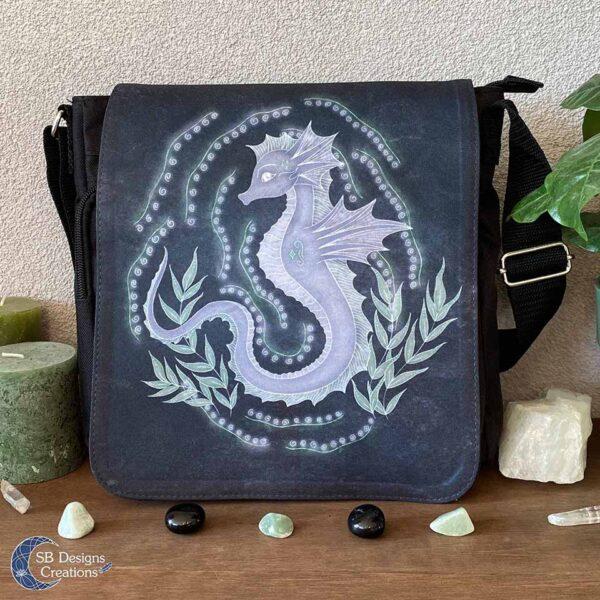 Zeepaard Krachtdier Schoudertas Spirit of the Seahorse - Spiritual Art-1