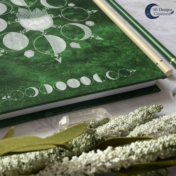 Book of Shadows Moonphases Journal Moon Magick Caudron-3
